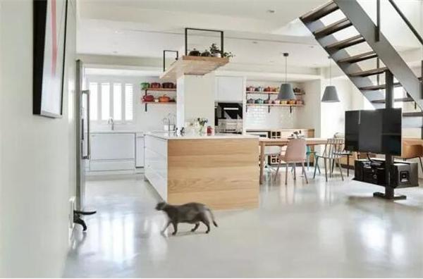 八十平米复式厨房装修案例图