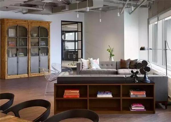 蘇州辦公室裝修設計案例 60平米辦公室裝修效果圖