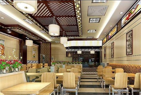 北京快餐店装修效果图