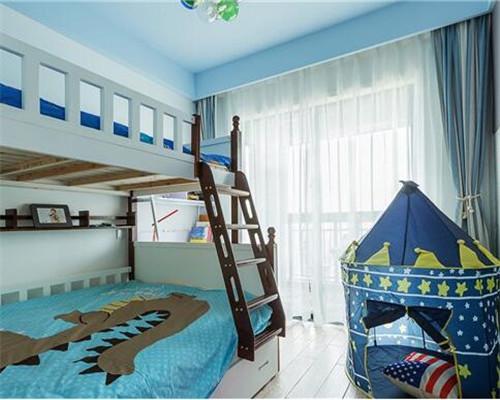 漯河120平米三居室北欧风儿童房装修设计