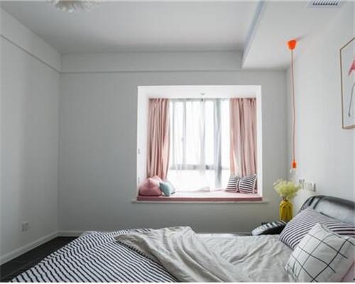 漯河120平米三居室北欧风卧室装修设计
