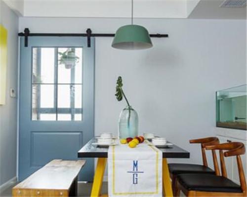 漯河120平米三居室北欧风餐厅装修设计