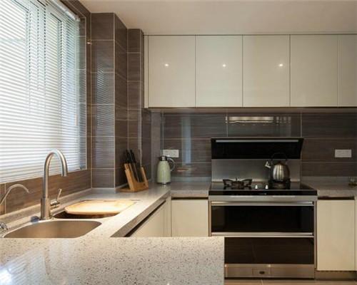 漯河100平米三居室现代简约风厨房装修设计