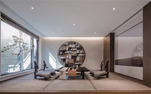 高端别墅茶室装修设计效果图