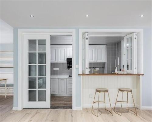现代美式风厨房装修设计