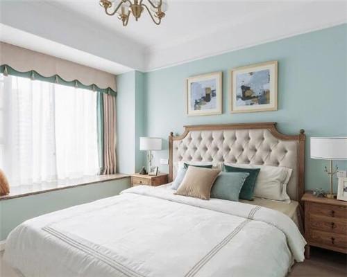 现代美式风卧室装修设计
