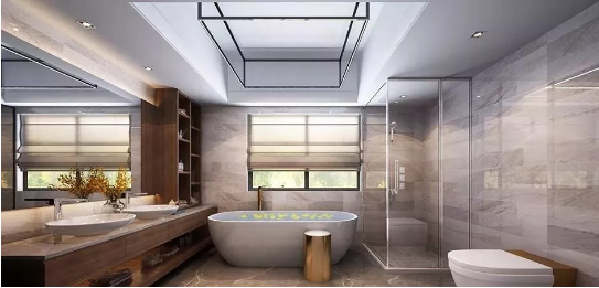 卫浴间装修效果图