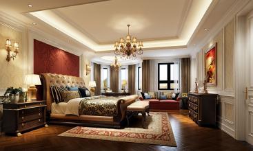 长春新房装修设计古典风格效果图