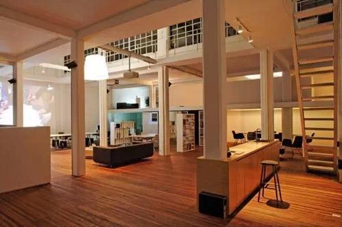广州loft办公室装修办公区设计