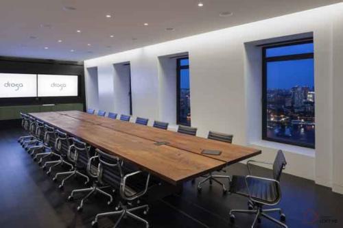 广州loft办公室装修会议区设计