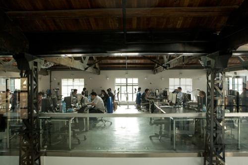 广州loft办公室装修设计特点