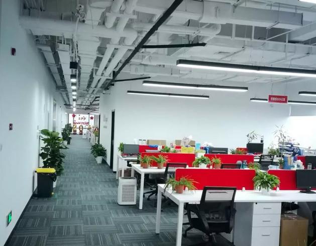 员工办公区装修效果图