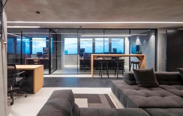 穩重凝練型辦公室裝修風格