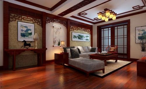 广州别墅装修设计古典风格效果图