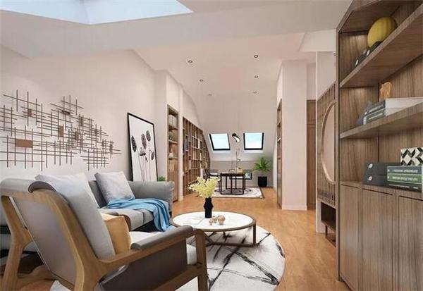 新中式别墅休闲区装修效果图