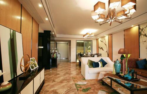 广州新房装修设计中式风格效果图