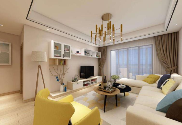 90平米三室一厅简单装修