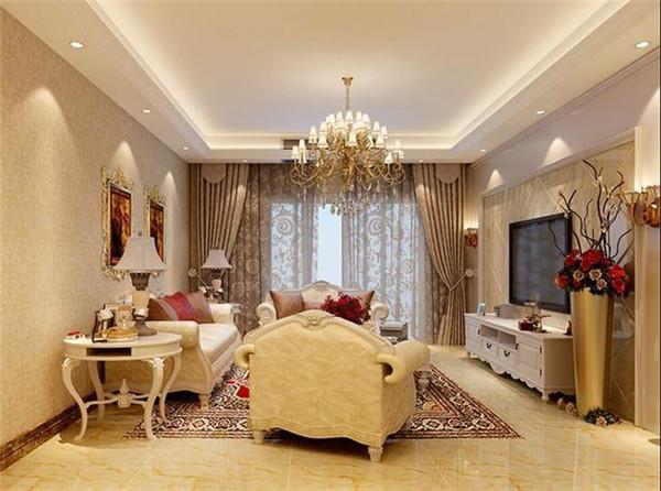 天津惠万家装饰公司美式风格设计案例