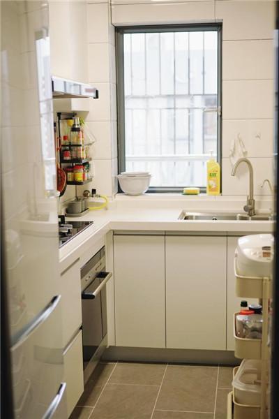 福州60平米两室一厅装修厨房效果图