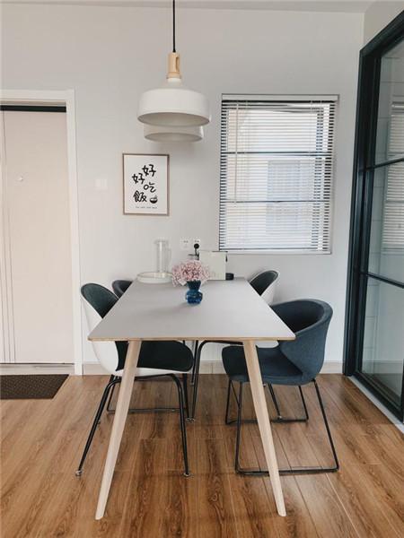 福州60平米两室一厅装修餐厅效果图