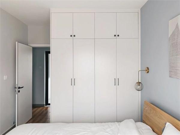 福州60平米两室一厅装修主卧效果图