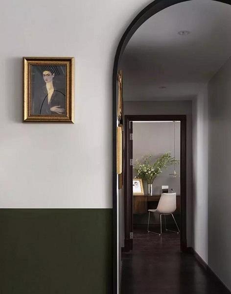 84平方三房装修走廊效果图