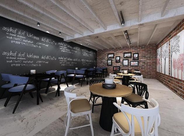 成都现代咖啡厅装修图2