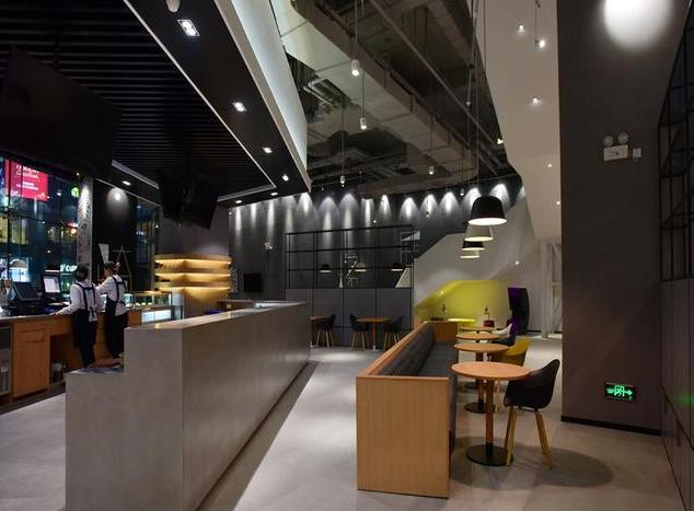 成都现代咖啡厅装修图3