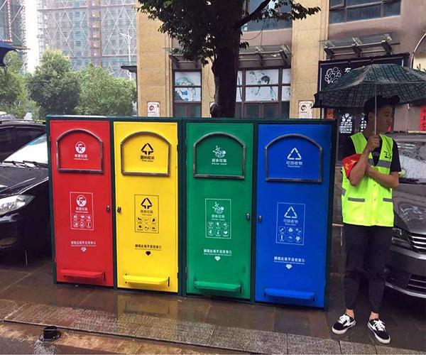 上海垃圾分�扔垃圾�r�g