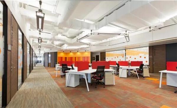 办公室装修色彩搭配效果图