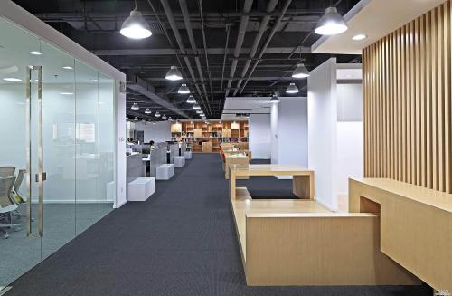 长春办公室装修流程之空间相对宽敞