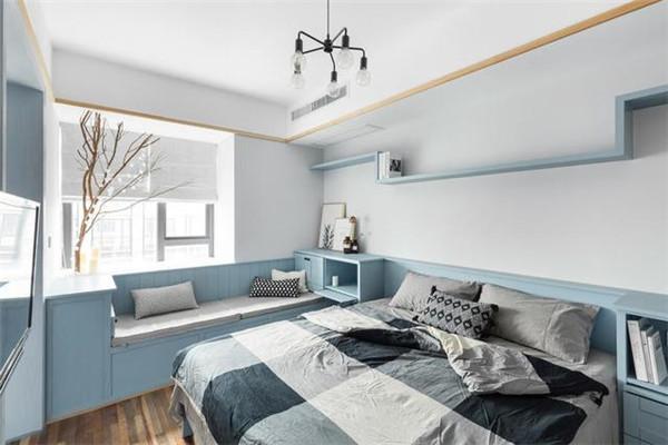 天津62平米公寓装修卧室样板间