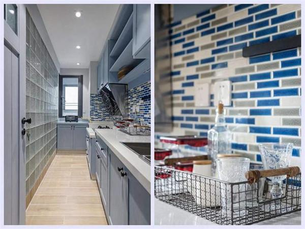 天津62平米公寓装修厨房样板间