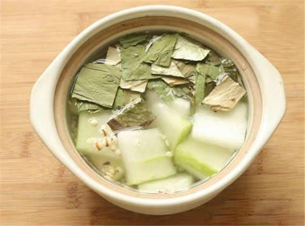 冬瓜荷叶茶的制作方法