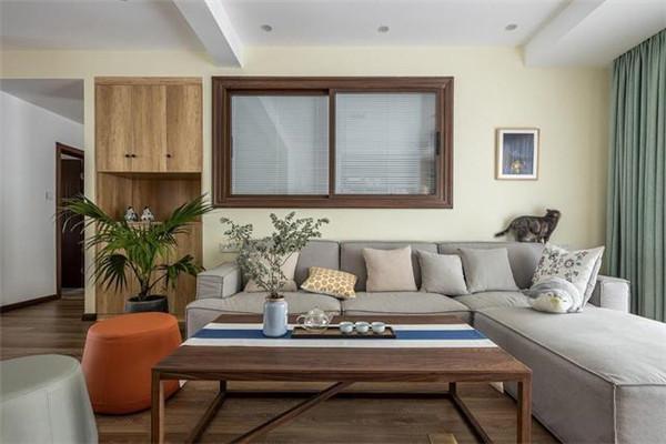 福州三居室装修客厅效果图