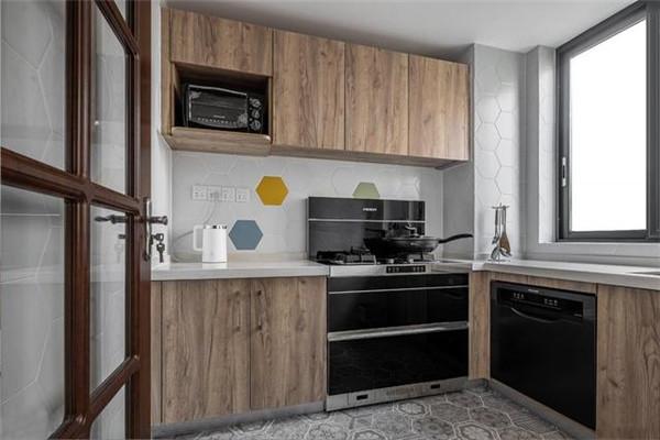 福州三居室装修厨房效果图