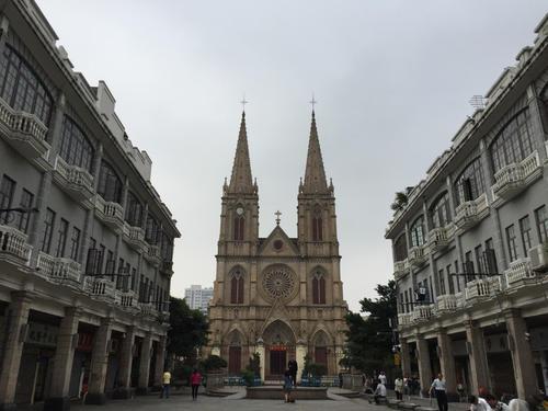 广州有什么好玩的地方之广州圣心大教堂
