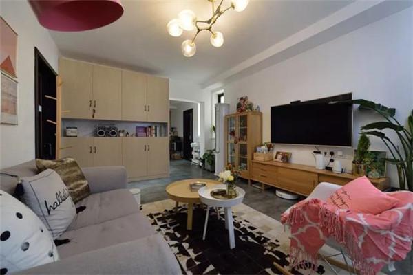 109平方米3室2厅装修客厅效果图
