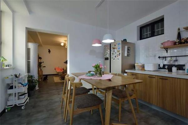 109平方米3室2厅装修餐厅效果图