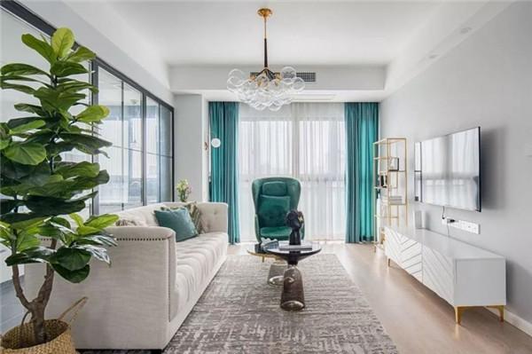 地中海风格客厅地板砖颜色搭配