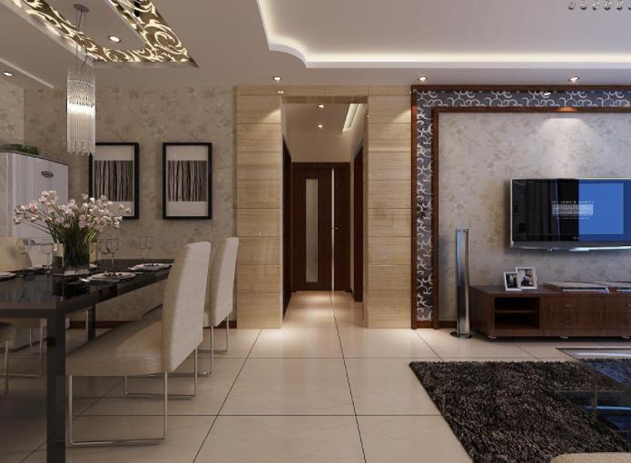 98平米三居室装修设计