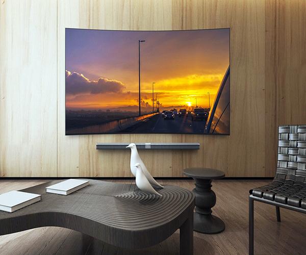 曲面电视挂墙上好吗