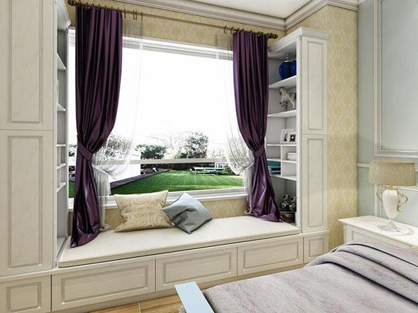 卧室飘窗怎么装修实用