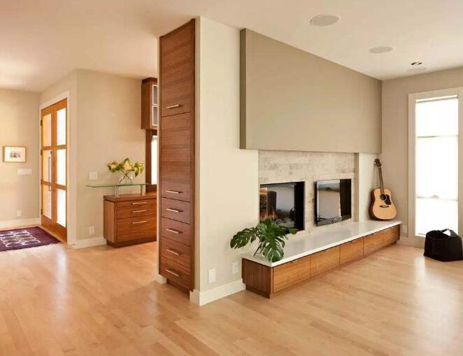 棕色地板门搭配效果案例