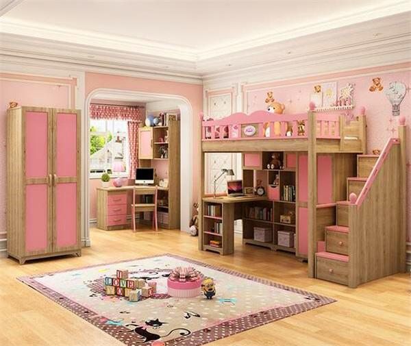 两个女孩的房间设计