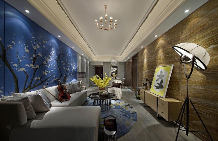 客厅看不厌的墙漆颜色