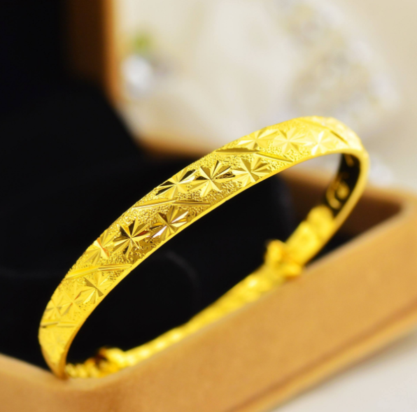 黄金手镯最新款式