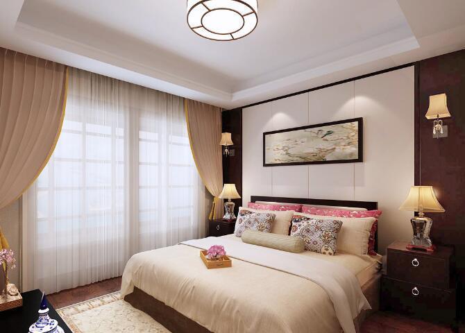 卧室床头挂画好吗