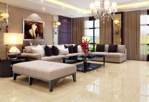 客厅装修用什么瓷砖比较合适