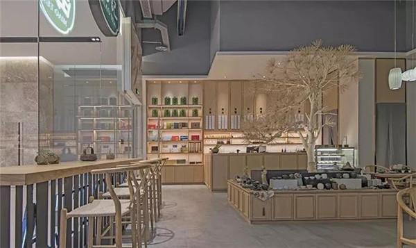 茶楼吧台装修效果图